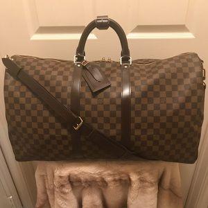 900756c33844 Louis Vuitton Bags - AUTHENTIC !! LV Keepall Damier Bandouliere 55
